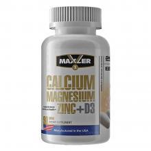 Maxler Calcium Zinc Magnesium, 90 табл
