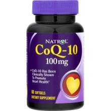 Natrol Коэнзим Q10, 60 капсул
