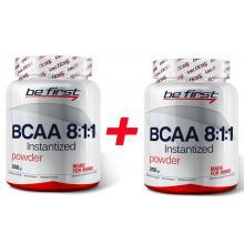 BeFirst BCAA 8:1:1 250 гр+250 гр