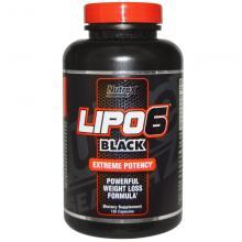 Nutrex Lipo-6 Black for Men (Мужской), 120 капсул