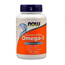 Now Omega-3 1000mg, 100 капсул